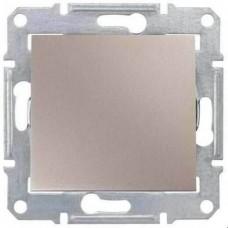 SDN0100168 Одноклавишный выключатель 10 A серии Sedna. Цвет Титан