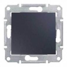 SDN0100170 Одноклавишный выключатель 10 A серии Sedna. Цвет Графит