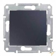 SDN0700170 Кнопочный выключатель 10A серии Sedna. Цвет Графит