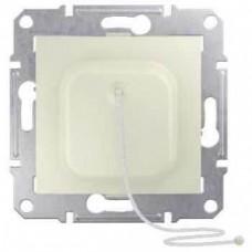 SDN1300123 Выключатель для жалюзи с электрич. блокировкой 10A серии Sedna. Цвет Слоновая кость