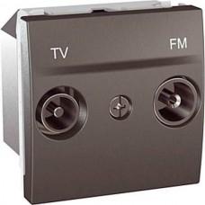 Розетка TV-R одиночная серия Unica MGU3.451.12