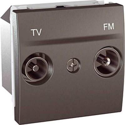 MGU3.451.12 Розетка TV-R одиночная серия Unica