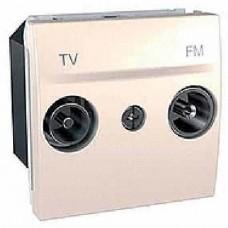 Розетка TV-R одиночная серия Unica MGU3.451.25