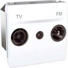 Розетка TV-R концевая серия Unica MGU3.452.18