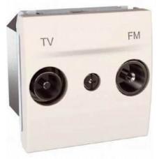 Розетка TV-R концевая серия Unica MGU3.452.25