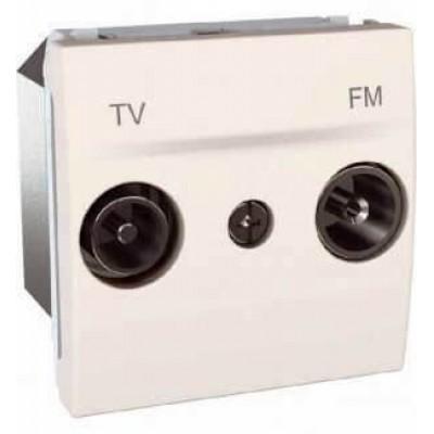 MGU3.453.25 Розетка TV-R проходная серия Unica