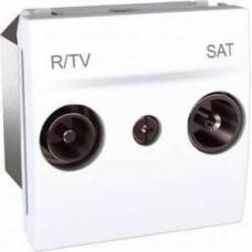 MGU3.455.18 Розетка TV-R\SAT концевая серия Unica