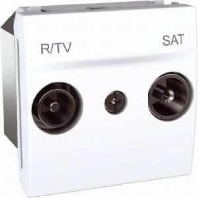 MGU3.456.18 Розетка TV-R\SAT проходная серия Unica