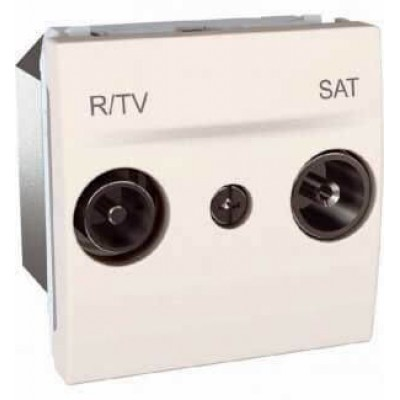 MGU3.455.25 Розетка TV-R\SAT кінцева серія Unica