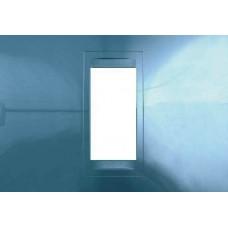 Рамка 1-модульная Unica Allegro. Цвет Голубой лед MGU4.101.54