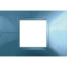 Рамка 2-модульная Unica Allegro. Цвет Голубой лед MGU4.102.54