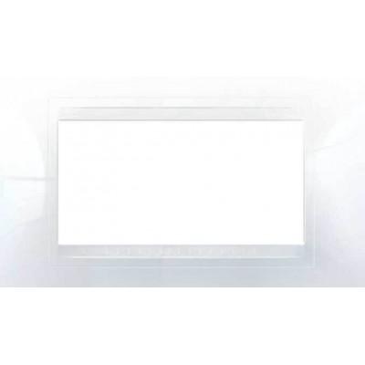 MGU4.104.18 Рамка 4-модульная белая Unica Allegro