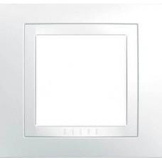 Рамка одноместная белая Unica Basic MGU2.002.18