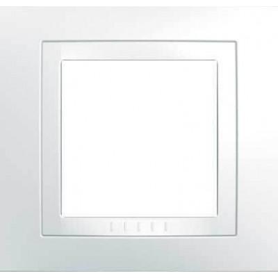 Рамка 1-местная белая Unica Basic MGU2.002.18