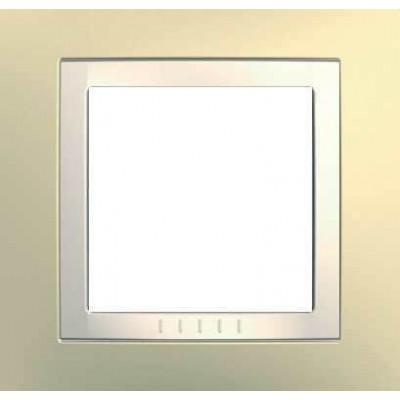 Рамка 1-местная кремовая Unica Basic MGU2.002.559