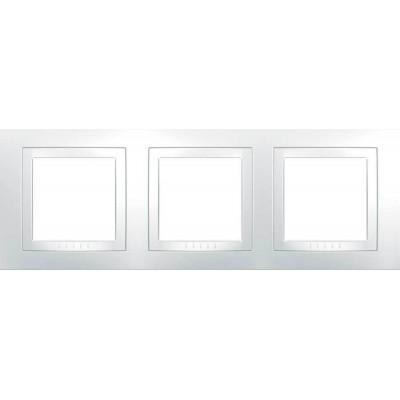 Рамка 3-місна біла Unica Basic MGU2.006.18