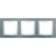 Рамка трехместная серый техно Unica Basic MGU2.006.858