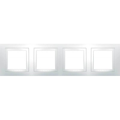 Рамка 4-місна біла Unica Basic MGU2.008.18