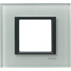 Рамка 1-постовая матовое стекло Unica Class MGU68.002.7C3