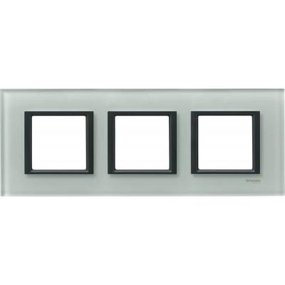 Рамка 3-постовая матовое стекло Unica Class MGU68.006.7C3
