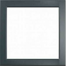 Декоративная вставка для рамок Unica Colors. Цвет Серый графит MGU4.000.62