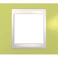 Рамка одноместная Unica Plus. Цвет Зелёное яблоко MGU6.002.563
