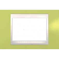 Рамка 3-модульная Итальянский дизайн Unica Plus. Цвет Зелёное яблоко MGU6.103.563