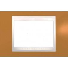 Рамка 3-модульная Итальянский дизайн Unica Plus. Цвет Оранжевый MGU6.103.569
