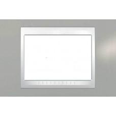 Рамка 3-модульная Итальянский дизайн Unica Plus. Цвет Туманно-серый MGU6.103.865