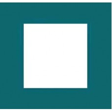 Рамка одноместная Unica Quadro. Цвет Aqua MGU4.702.26