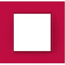 Рамка одноместная Unica Quadro. Цвет Lipstick MGU4.702.27