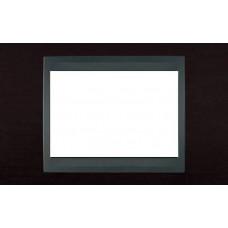 Рамка 3-модульная Итальянский дизайн Unica Top. Цвет Венге/Графит MGU66.103.2M3