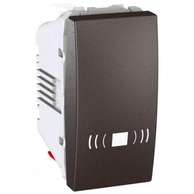 MGU3.106.12C Одноклавишный кнопочный выключатель, тип «звонок» Unica 10А