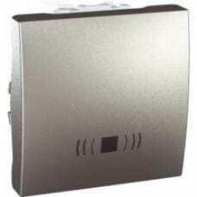 MGU3.206.30C Одноклавишный кнопочный выключатель, тип «звонок» Unica 10А