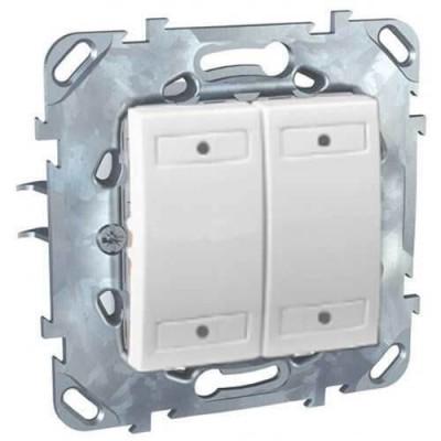 Выключатель LED 4-кнопочный Schneider Electric Unica MGU5.531.18
