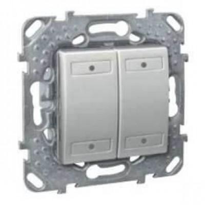4-кнопочный выключатель с LED индикатором состояния серия Unica MGU5.531.30