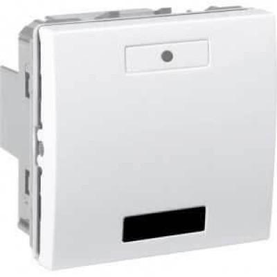 Вимикач з LED індикатором та ІЧ приймачем 2-кнопковий серія Unica MGU5.532.18