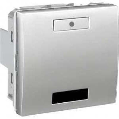 Вимикач з LED індикатором та ІЧ приймачем 2-кнопки серія Unica MGU5.532.30