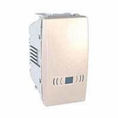 MGU3.106.25C Одноклавишный кнопочный выключатель, тип «звонок» Unica 10А