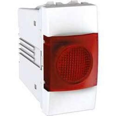MGU3.775.18R Индикатор красный 10А 1 модуль серия Unica