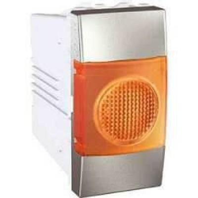 MGU3.775.30A Індикатор помаранчевий 10А 1 модуль серія Unica