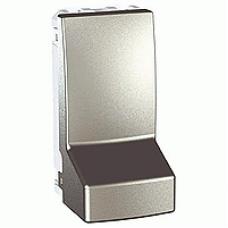 Адаптер для соединения кабеля 1 модуль серия Unica MGU3.860.30