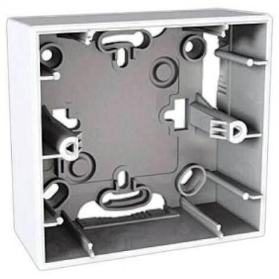 Монтажная коробка для открытого монтажа одноместная Unica MGU8.002.18