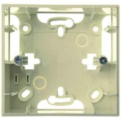 Монтажная коробка для открытого монтажа одноместная Unica MGU8.002.25