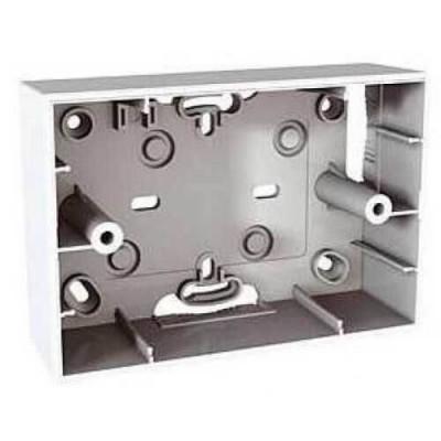 Коробка для открытого монтажа для итальянского дизайна - Трехмодульная - Unica MGU8.103.25