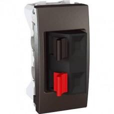 Аудиорозетка 1 модуль Unica Schneider Electric MGU3.487.12