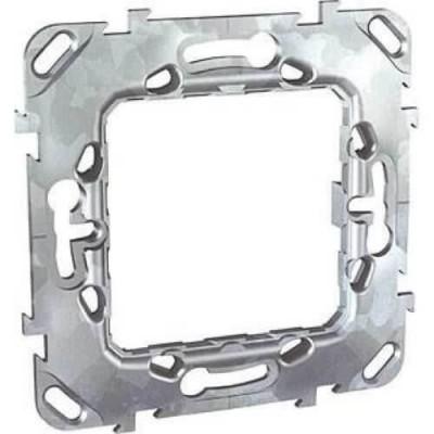 Универсальный металлический суппорт для механизмов Unica 1 модуль MGU7.002