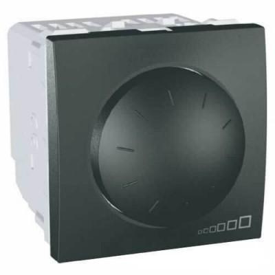 MGU3.511.12 Світлорегулятор поворотно-натискний для ламп розжарювання і галогенних ламп 40-400 Вт серія Unica