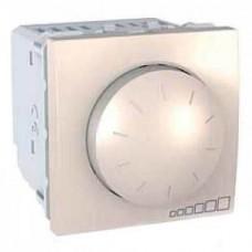Светорегулятор поворотно-нажимной для ламп накаливания и галогенных ламп 40-400 Вт серия Unica MGU3.511.25