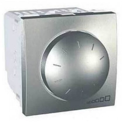 MGU3.511.30 Светорегулятор поворотно-нажимной для ламп накаливания и галогенных ламп 40-400 Вт серия Unica